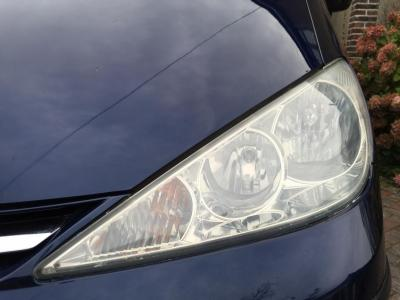 Toyota headlight after correction