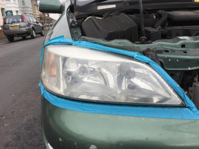 Astra Headlight working