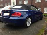 BMW 1 series convertible valeting in Brighton