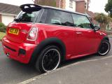 Mini Cooper S JCW Regulary waxed and cleaned by me